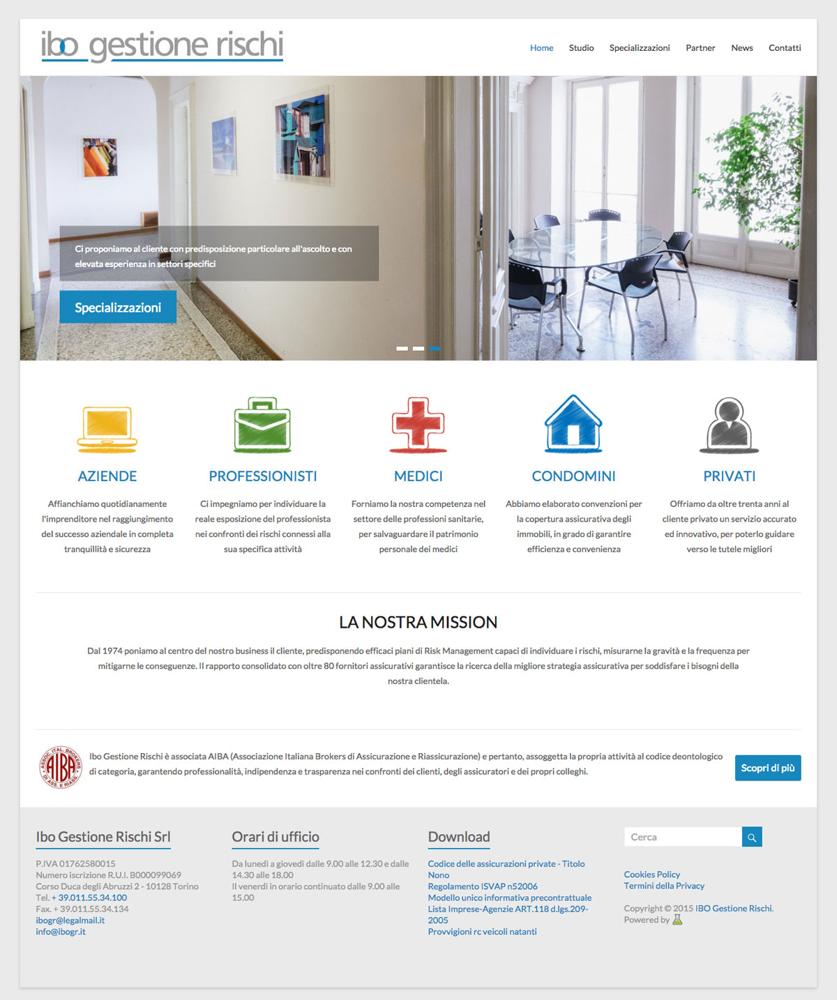 ibo gestione rischi homepage archibuzz