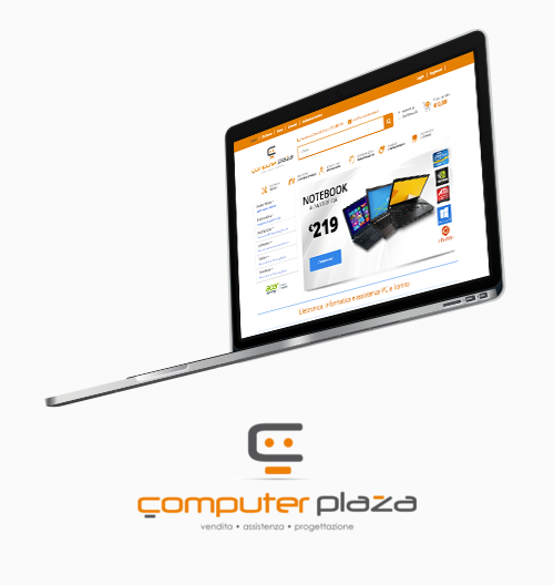 The new eCommerce website for Computer Plaza, Computer Discount network