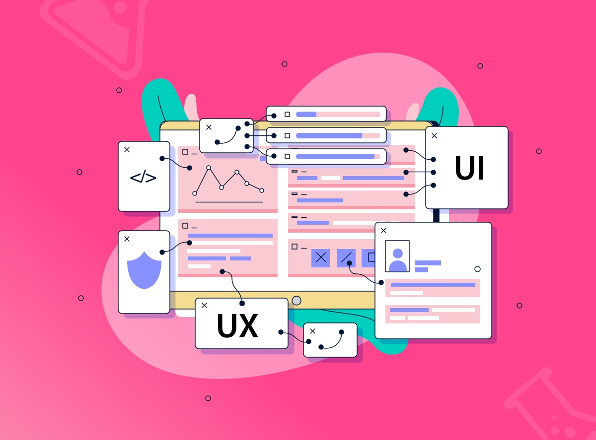 Which is the difference between UX design and UI design?